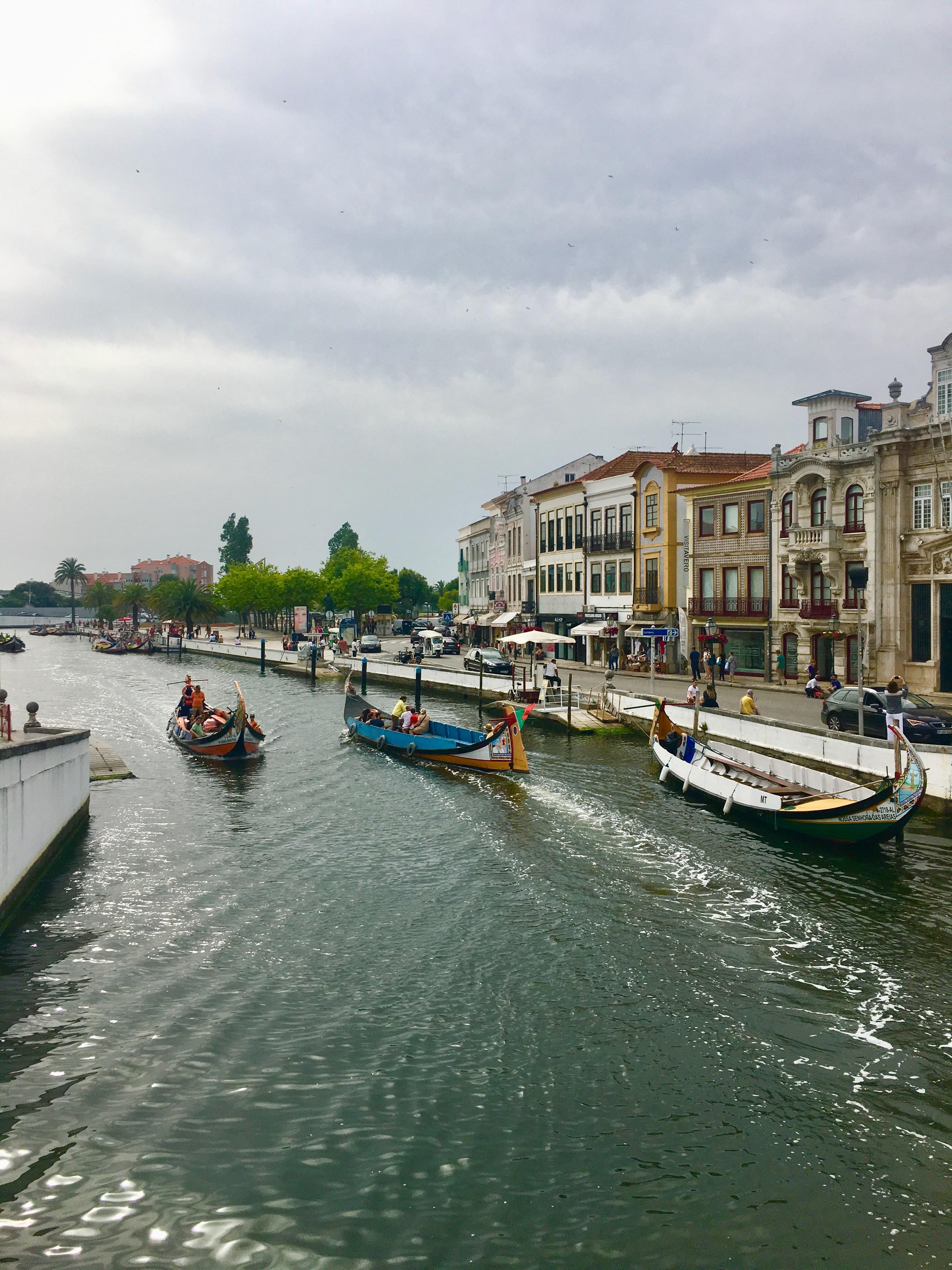 Aveiro. La Venecia portuguesa