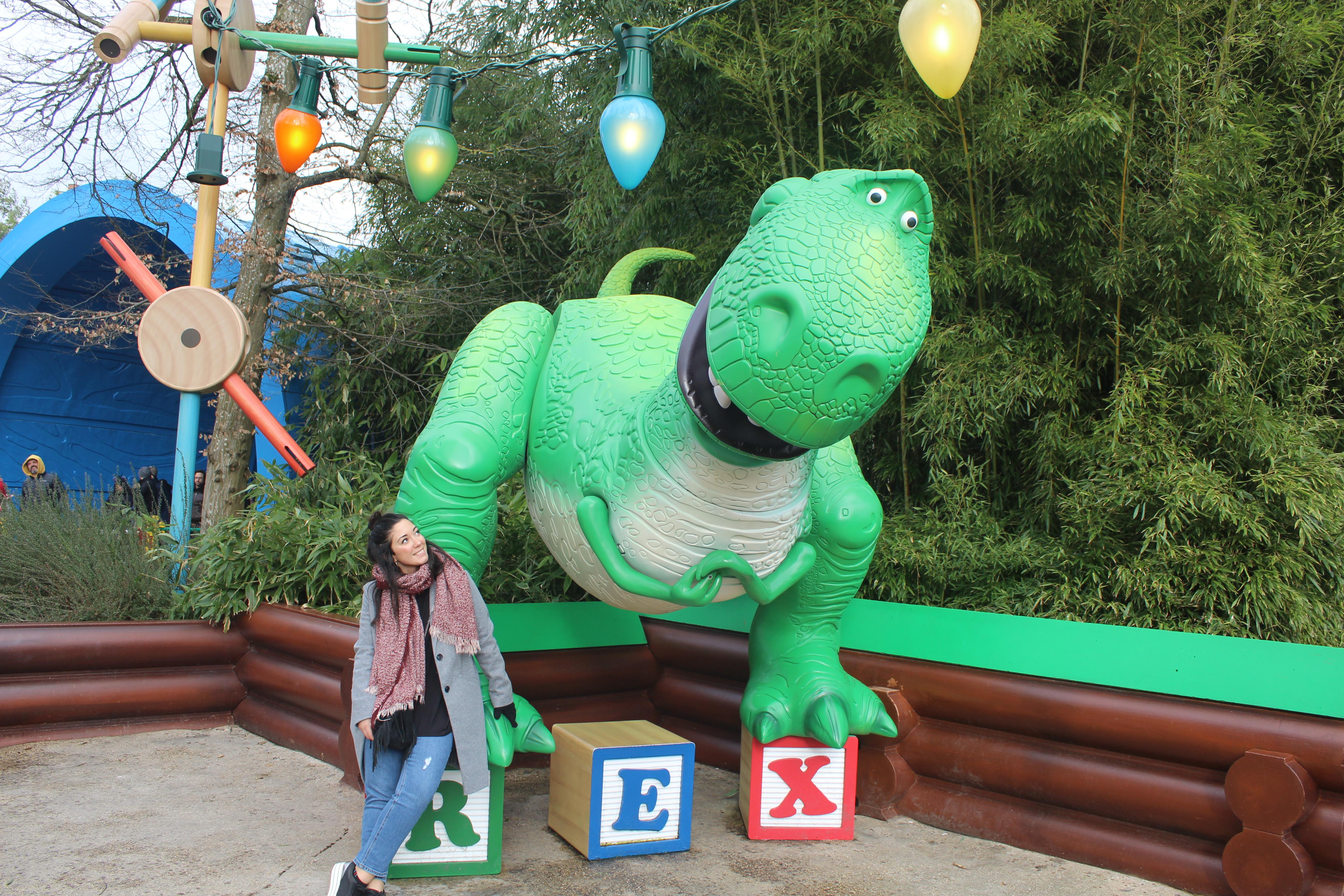 Rex en Walt Disney Studios en París.