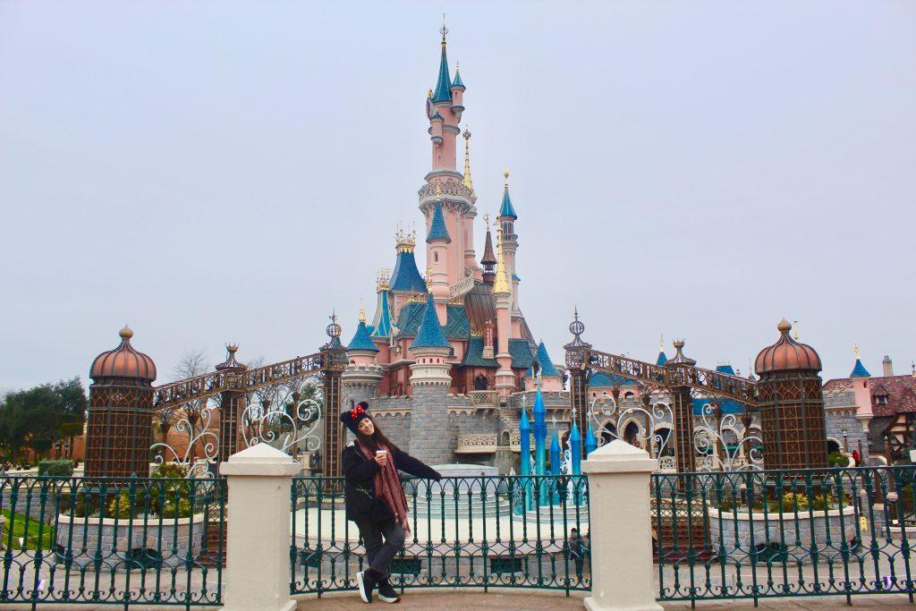 parque Disneyland en París.