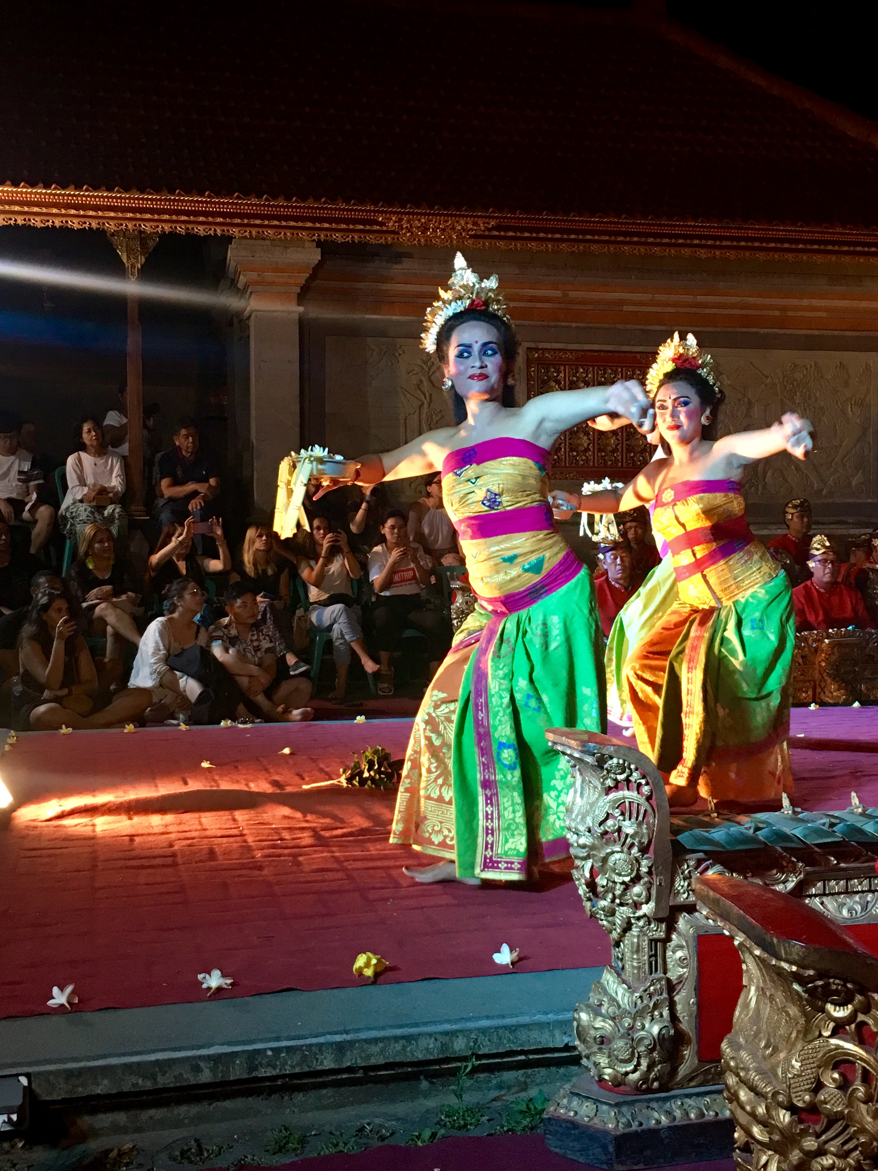 Danza balinesa en Ubud