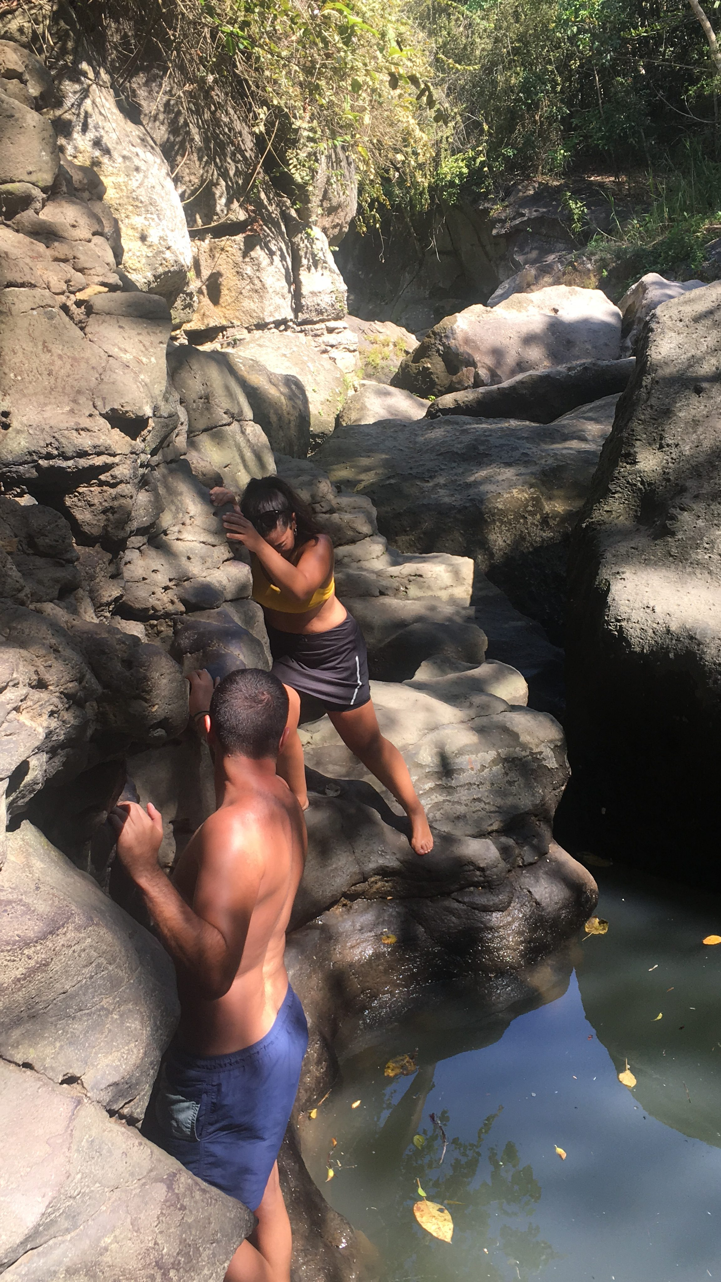 El cañón secreto de Bali (Hidden Canyon Beji Guwang)