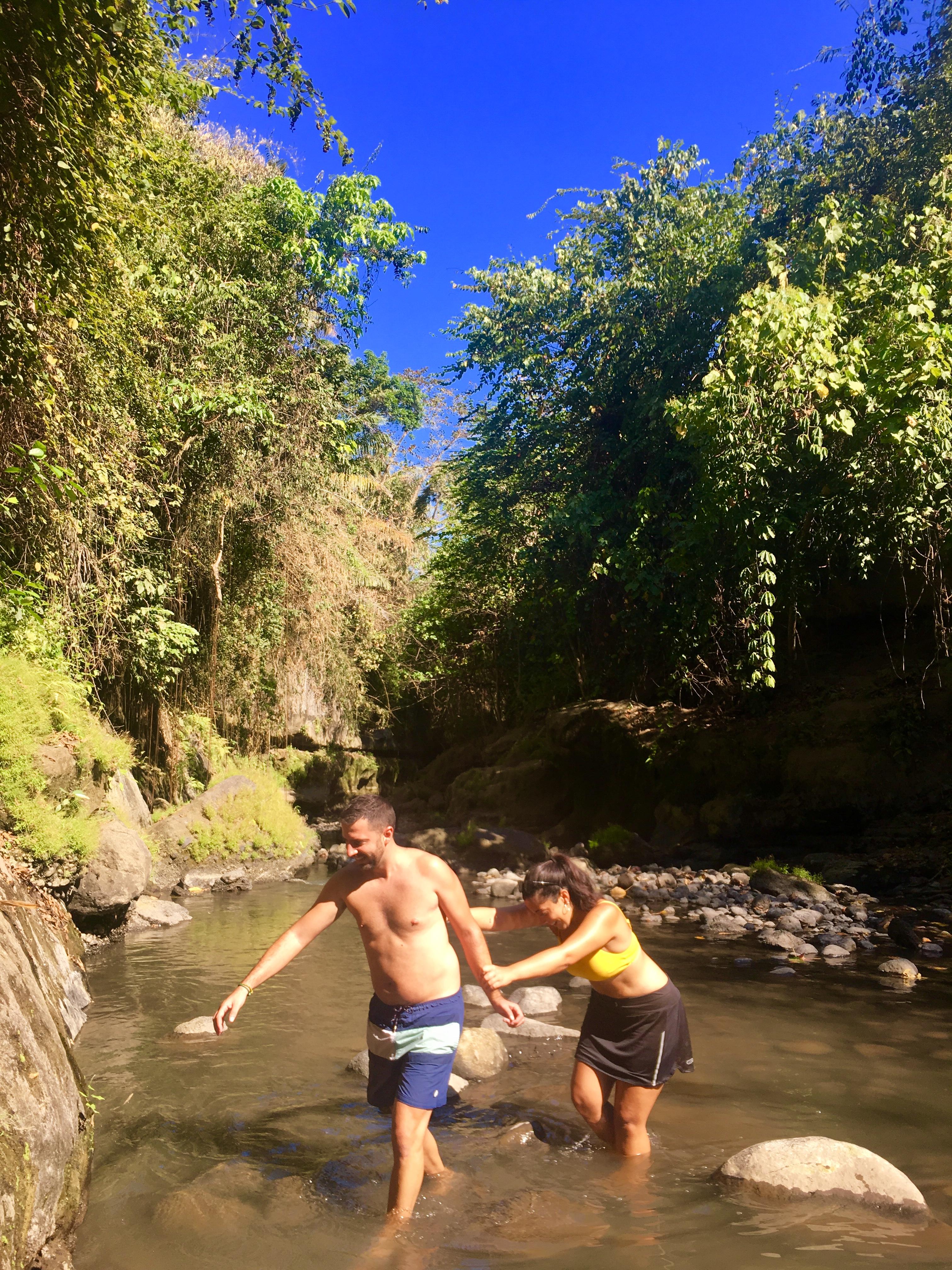 El cañón secreto de Bali (Hidden Canyon Beji Guwang)Tramo con dificultad