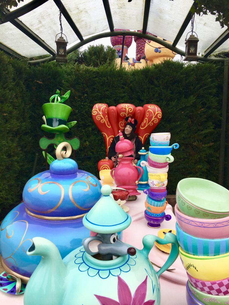 Zona de Alicia en el País de las Maravillas de los parques Disneyland en París