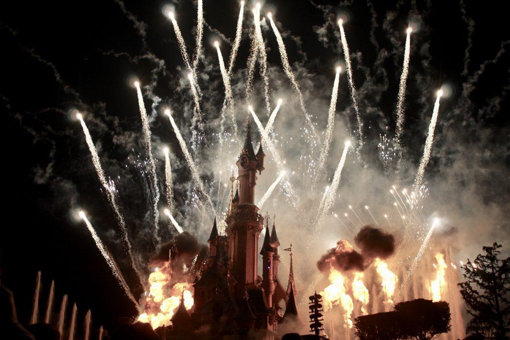 Espectáculo final en Disneyland París