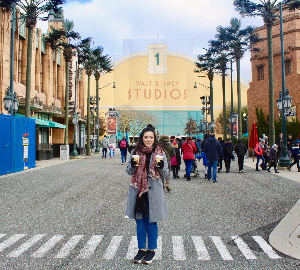 Entrada principal del parque Walt Disney Studios.