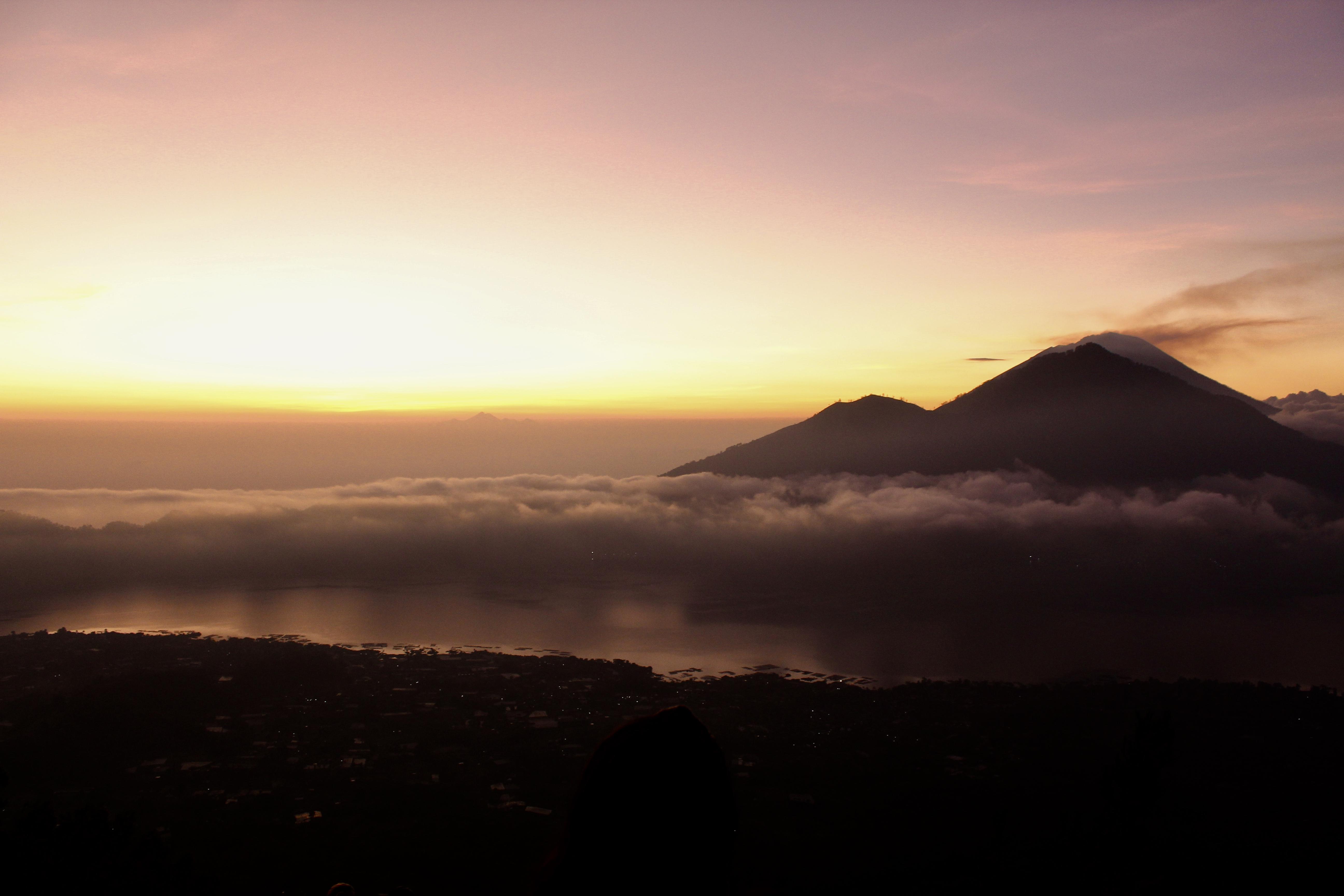 Excursión al monte Batur