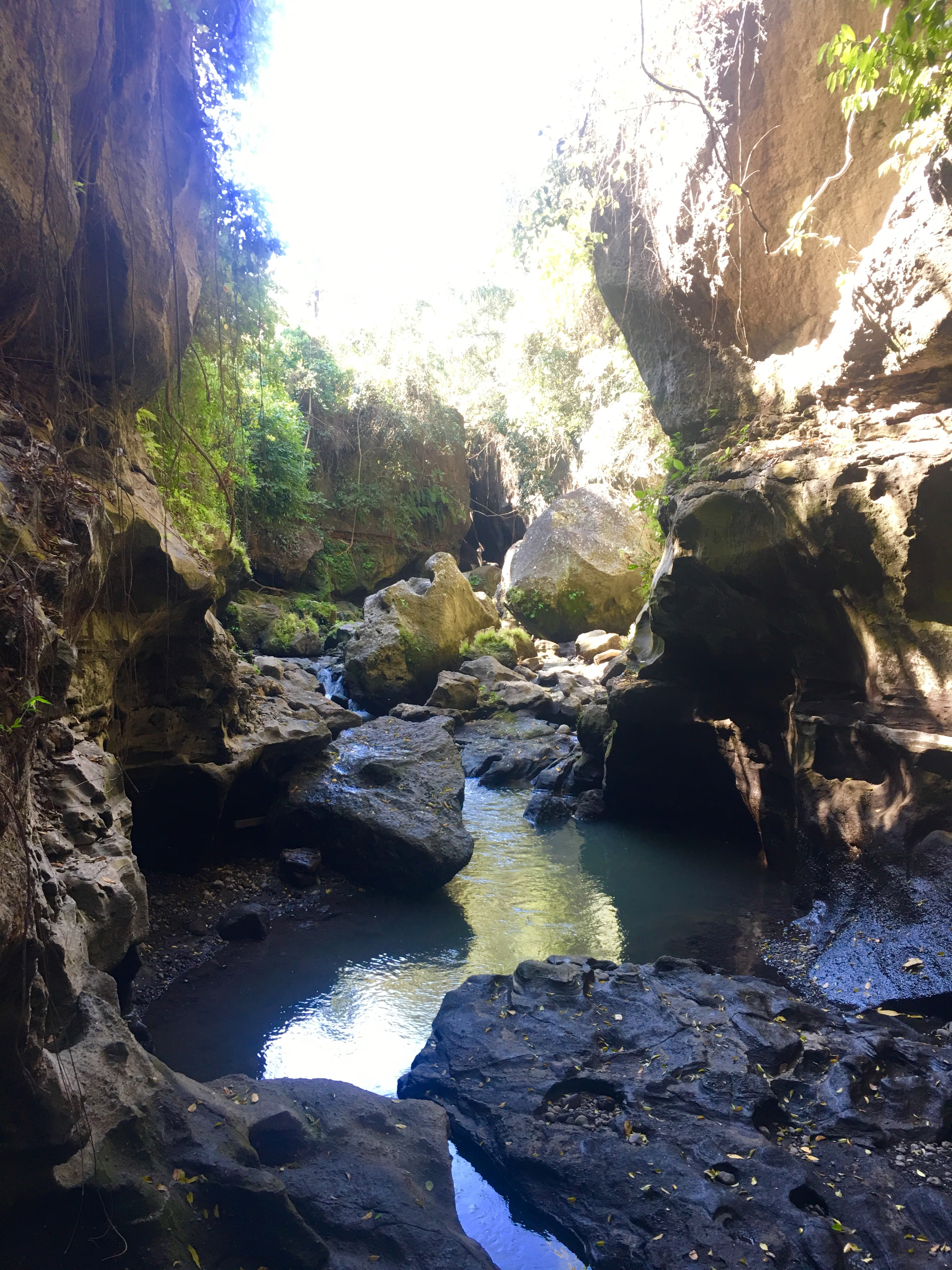 Imágenes del cañón de Bali