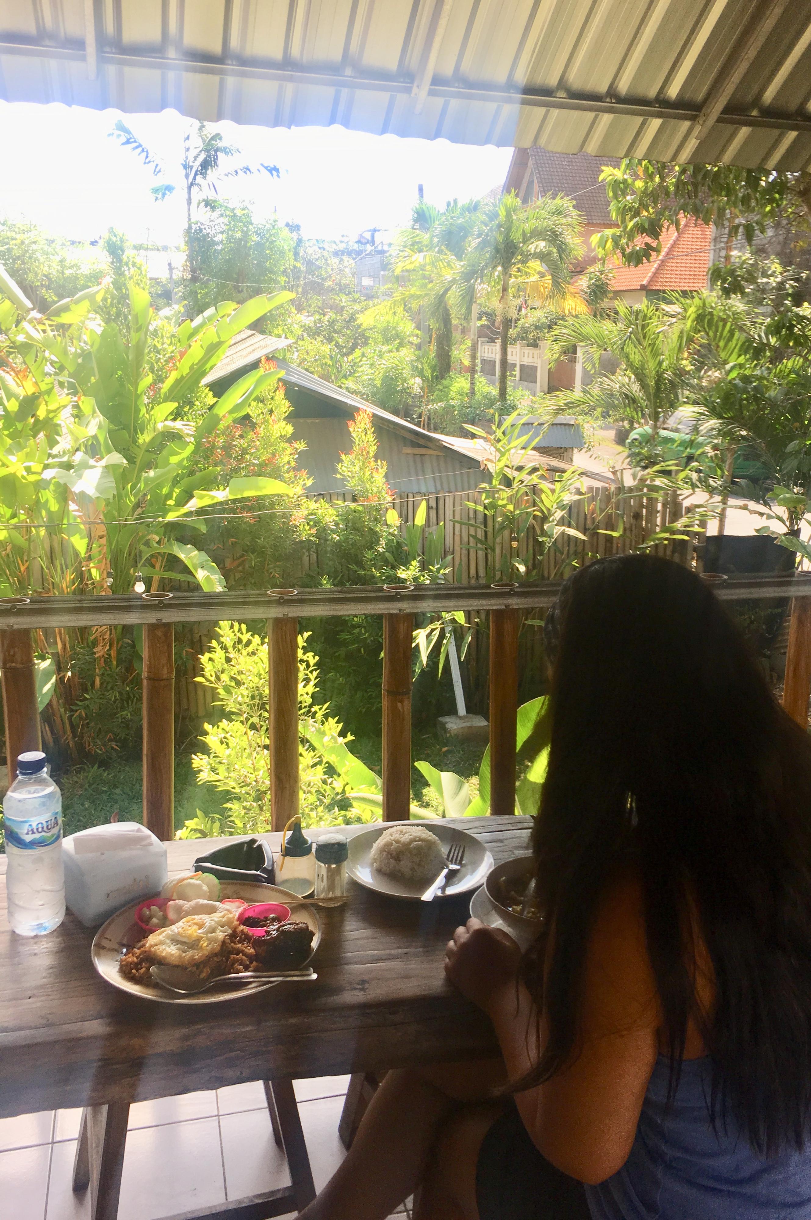 Qué comer en Bali