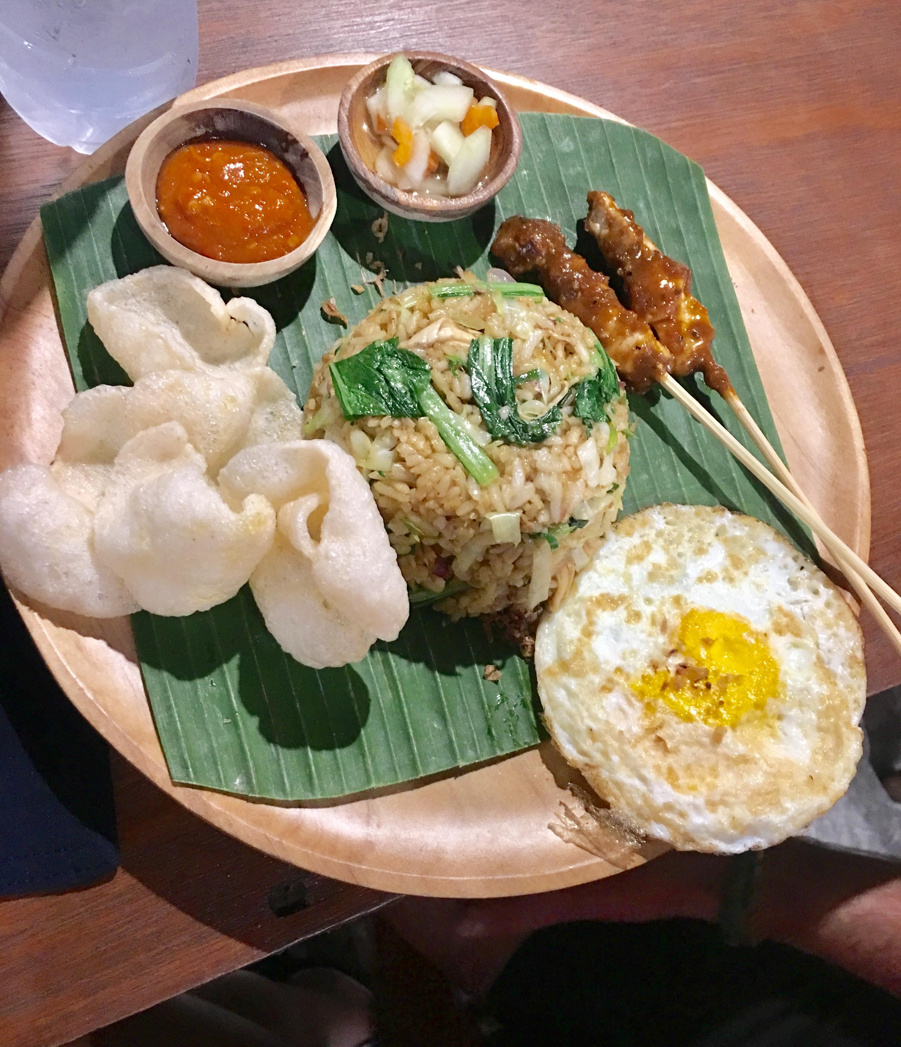 Qué comer en Bali y en Indonesia. Nasi Goreng