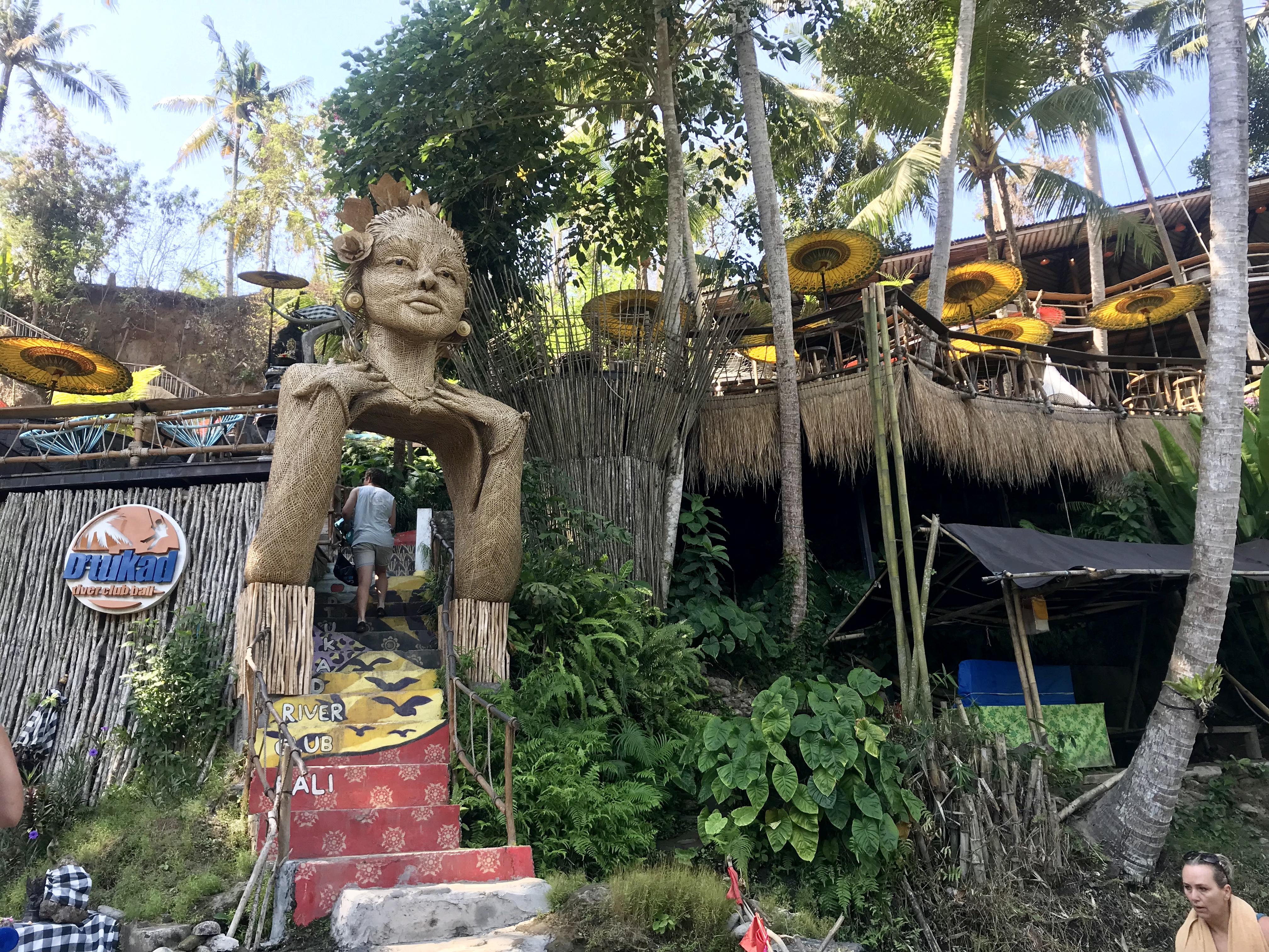 Las cascadas de Tegenungan en Bali